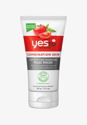 YES TO TOMATO DETOXIFYING CHARCOAL MUD MASK 93G - Masque visage - -