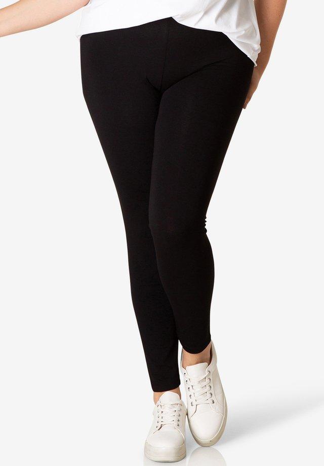 ANDREA  - Leggings - Trousers - black