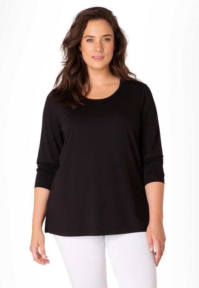 XANGOLA - Long sleeved top - black