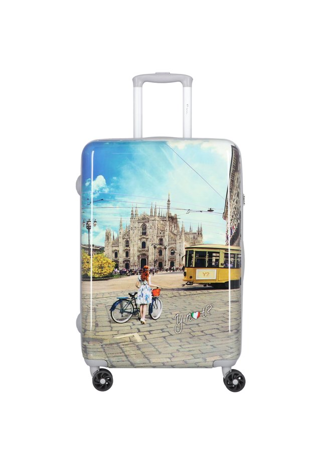Wheeled suitcase - multi-coloured