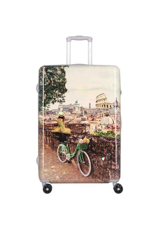 Wheeled suitcase - brown