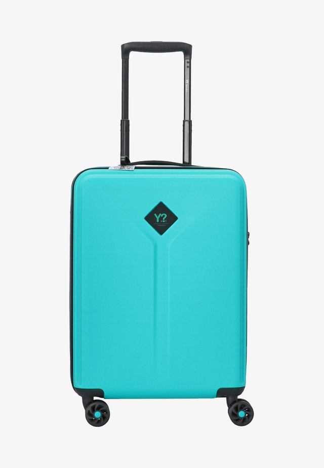Wheeled suitcase - teal