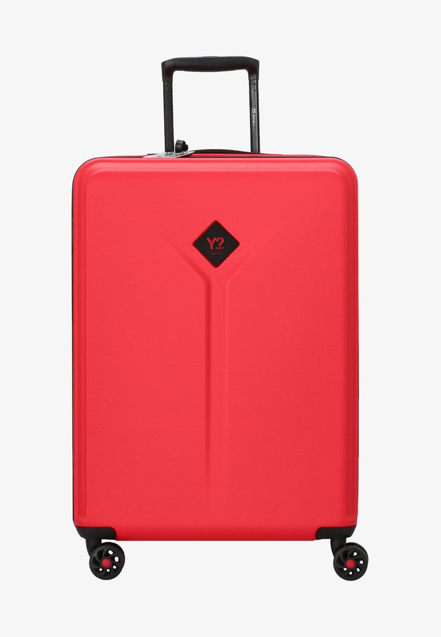 Y NOT - Wheeled suitcase - red