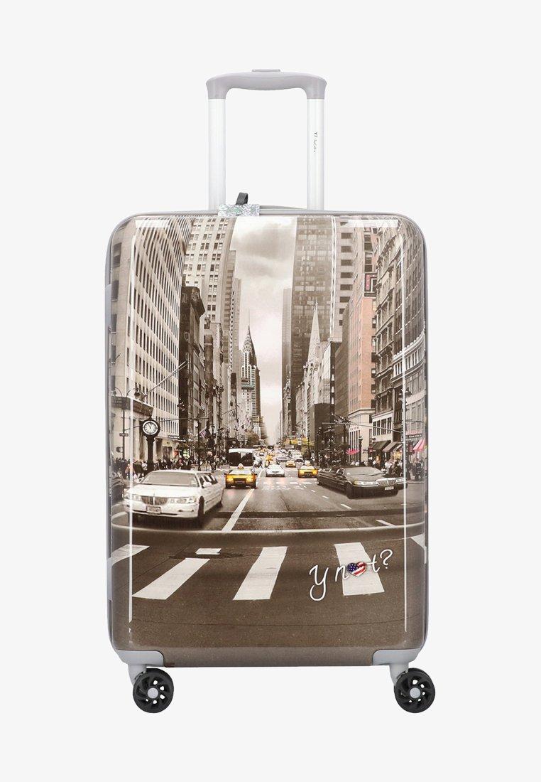 Y Not? - Wheeled suitcase - grey
