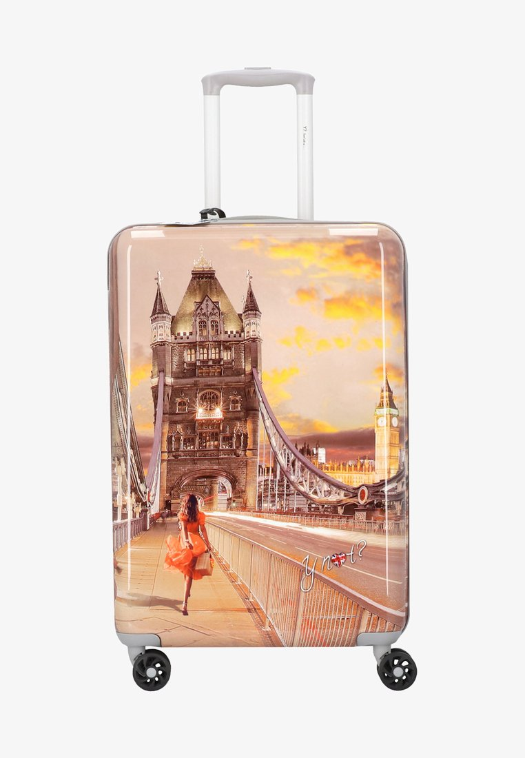 Y Not? - Wheeled suitcase - light pink