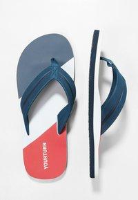 YOURTURN - Pool shoes - dark blue/red - 1