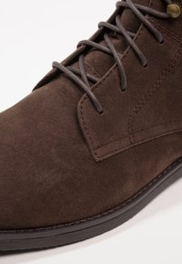 YOURTURN - Lace-up ankle boots - dark brown - 5