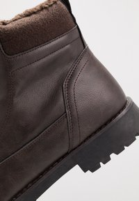 YOURTURN - Schnürstiefelette - dark brown - 5