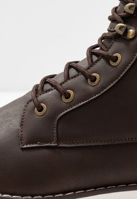 YOURTURN - Lace-up ankle boots - dark brown - 5