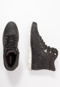 YOURTURN - Lace-up ankle boots - dark gray - 1