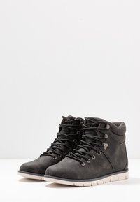 YOURTURN - Lace-up ankle boots - dark gray - 2