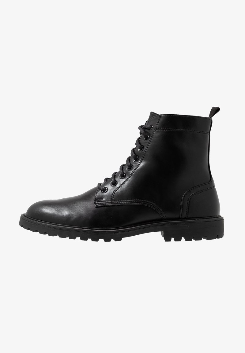 YOURTURN - Lace-up ankle boots - black