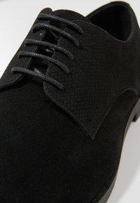 YOURTURN - Smart lace-ups - black - 5
