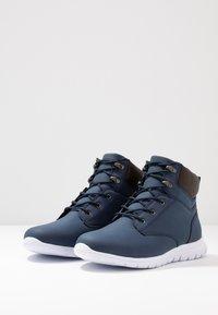 YOURTURN - Höga sneakers - dark blue - 2