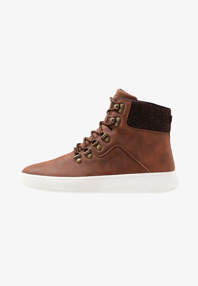 YOURTURN - Sneakers hoog - cognac