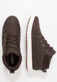 YOURTURN - High-top trainers - dark brown - 1