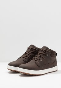 YOURTURN - High-top trainers - dark brown - 2