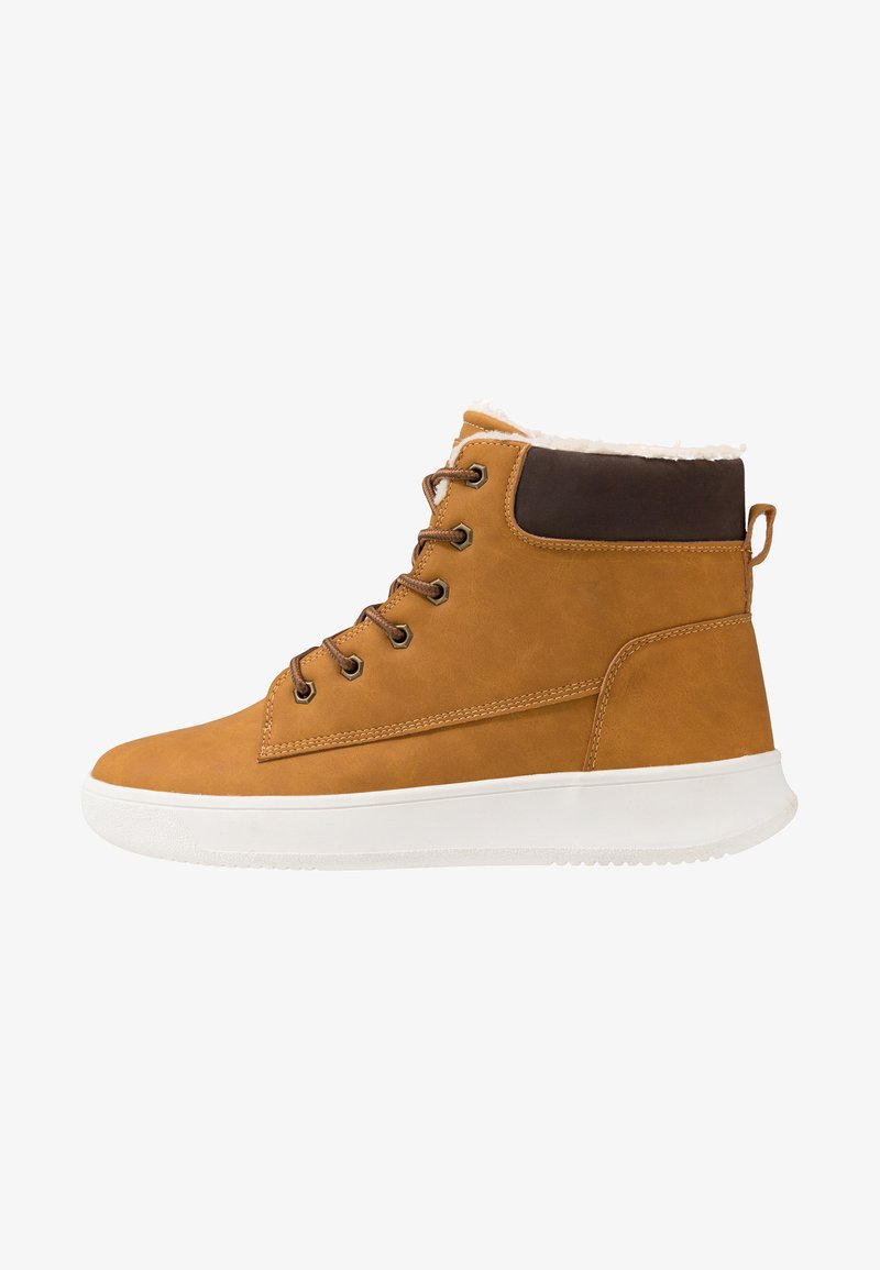 YOURTURN - Lace-up ankle boots - camel