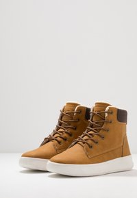 YOURTURN - Lace-up ankle boots - camel - 2