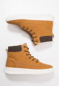 YOURTURN - Lace-up ankle boots - camel - 1