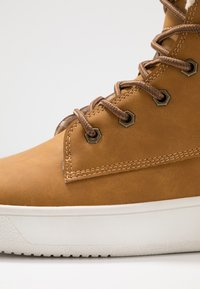 YOURTURN - Lace-up ankle boots - camel - 5