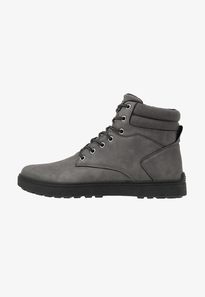 YOURTURN - Lace-up ankle boots - dark gray