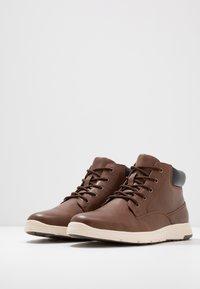 YOURTURN - Zapatillas altas - cognac - 2