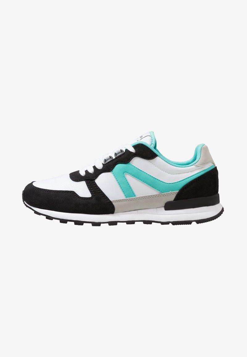 YOURTURN - Sneaker low - white/black/green