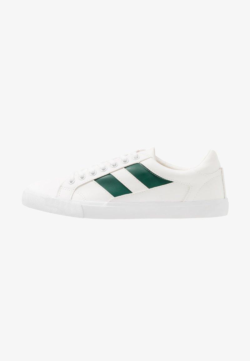YOURTURN - Baskets basses - white/green