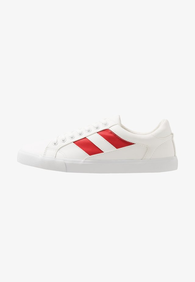 Sneaker low - white/red