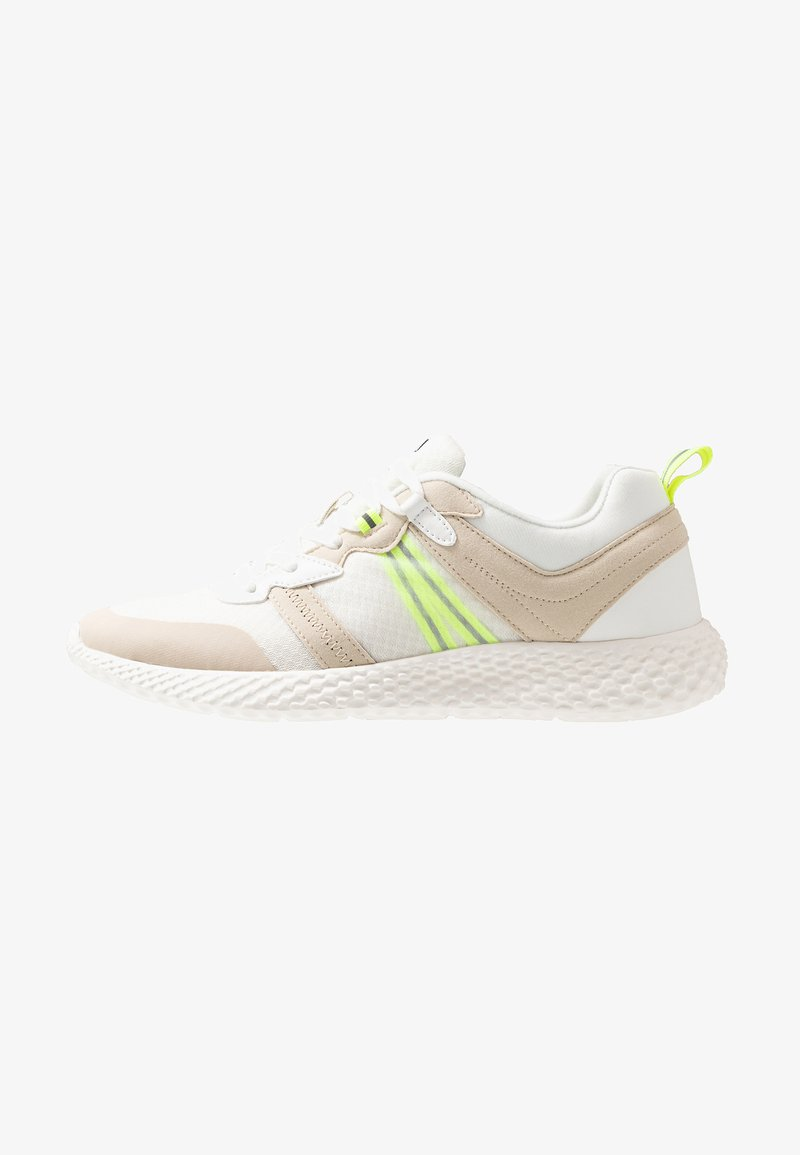 YOURTURN - Sneakersy niskie - white/light green