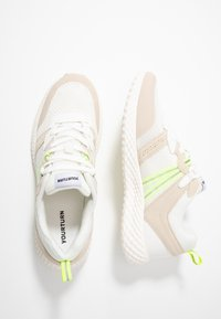 YOURTURN - Sneakersy niskie - white/light green - 1