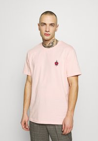 YOURTURN - Jednoduché triko - pink - 0
