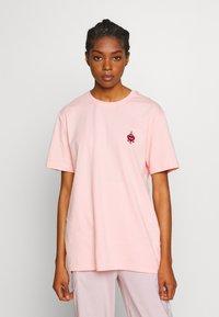YOURTURN - Jednoduché triko - pink - 3