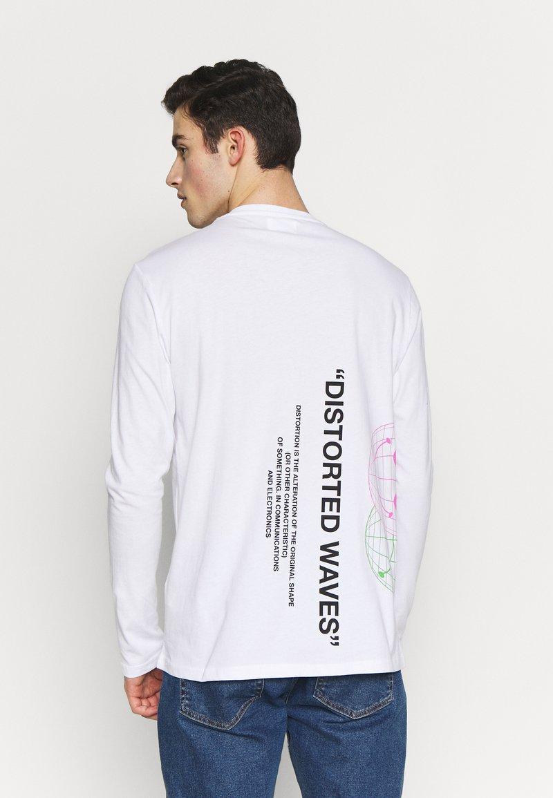 YOURTURN - Maglietta a manica lunga - white