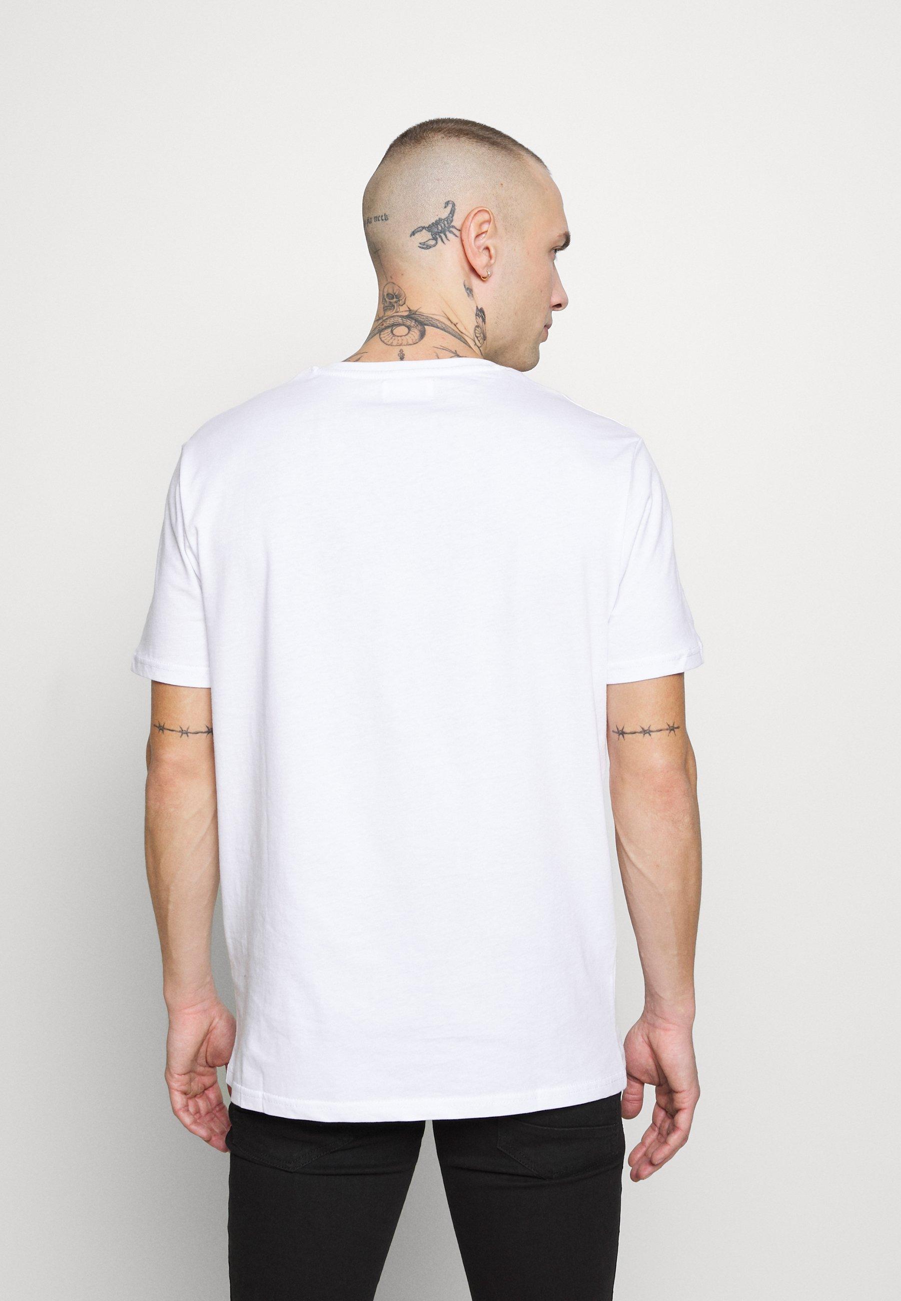YOURTURN T-shirt z nadrukiem - white