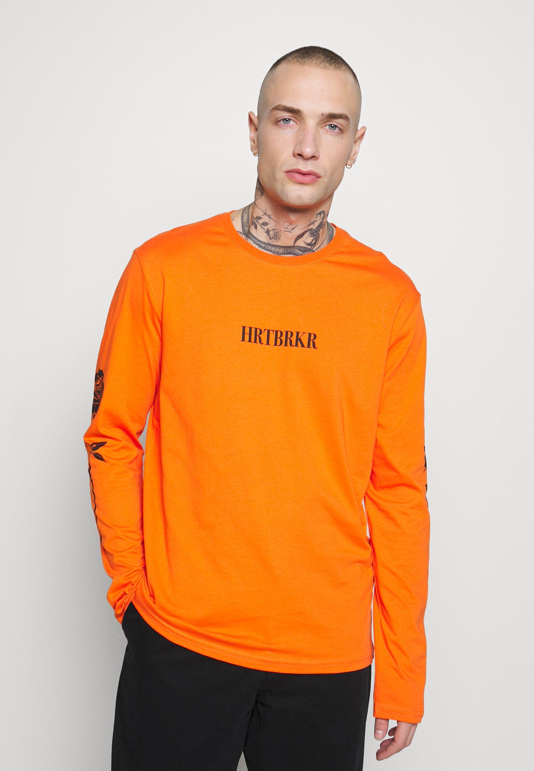 YOURTURN Bluzka z długim rękawem - orange