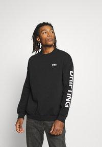 YOURTURN - UNISEX - Sweatshirt - black - 0