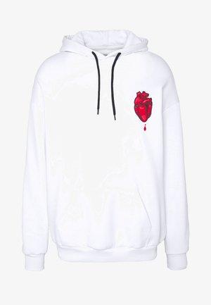 CHOPSTICK HEART - Luvtröja - white