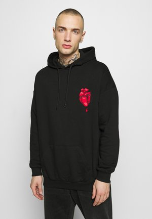 CHOPSTICK HEART - Sweat à capuche - black