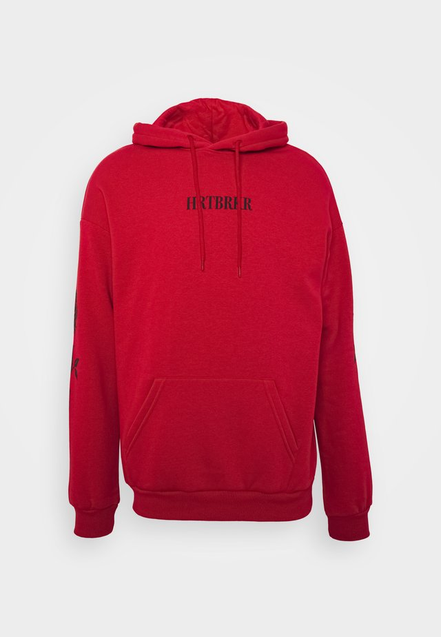 UNISEX - Jersey con capucha - red