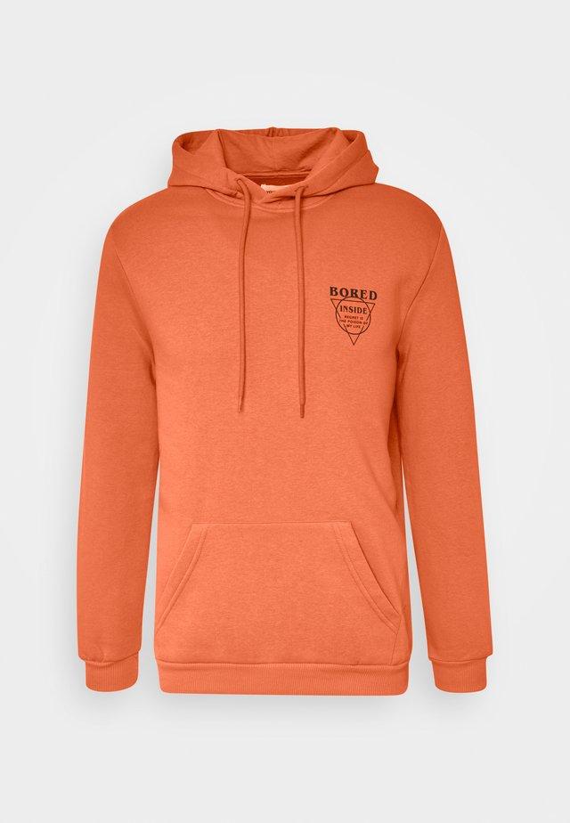 Jersey con capucha - orange