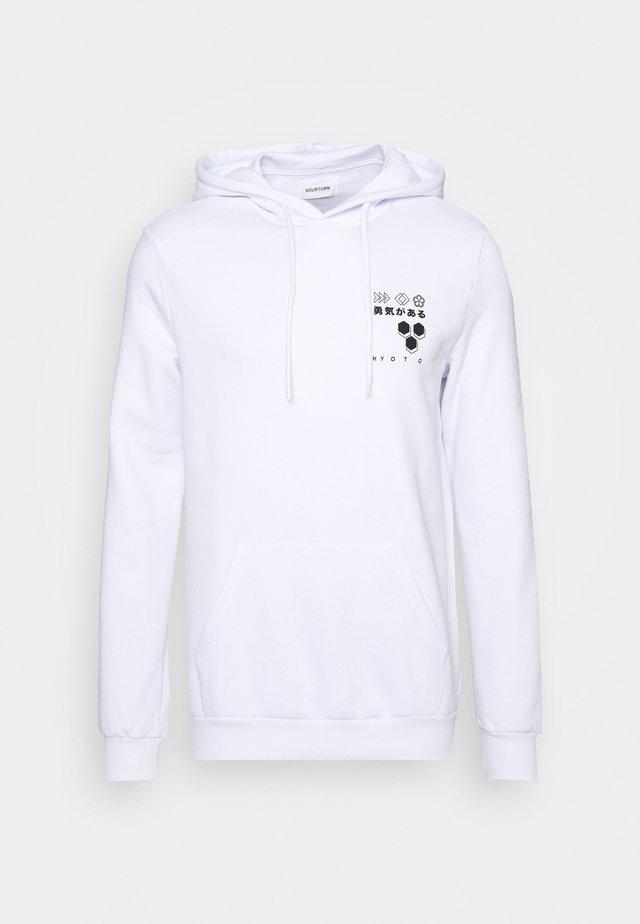 Jersey con capucha - white