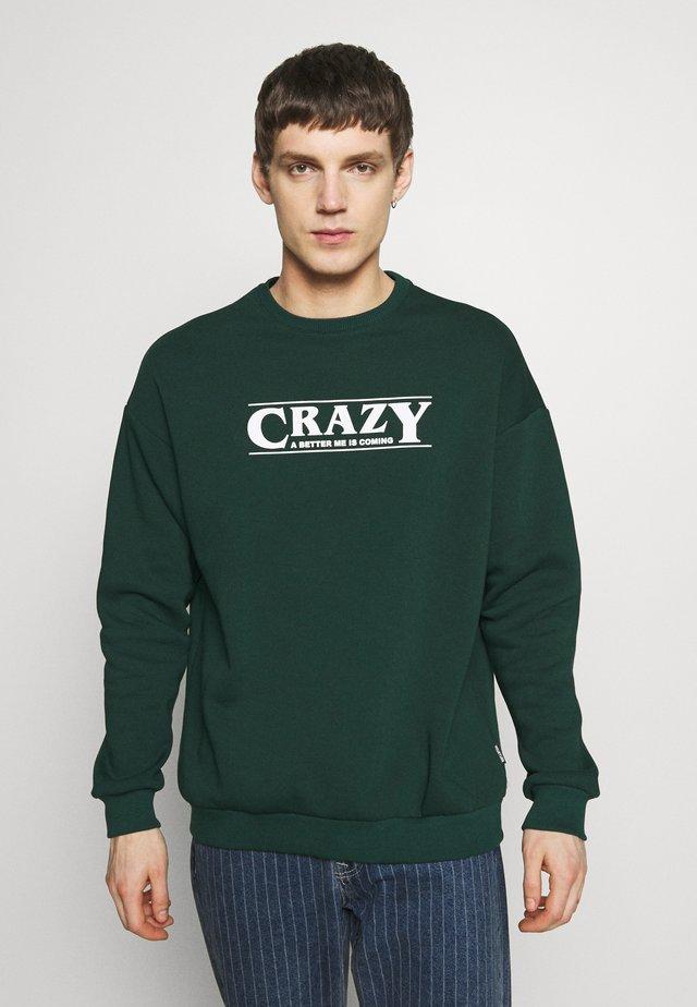 UNISEX - Sweatshirts - dark green