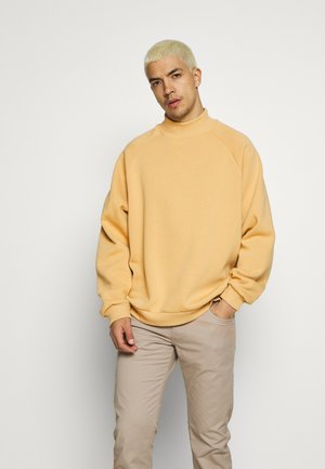 Sweatshirt - tan
