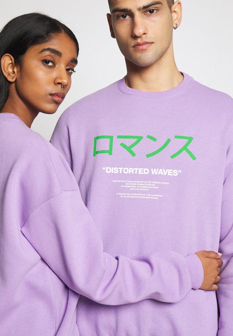 YOURTURN Sweatshirt - lilac