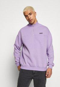 YOURTURN - Sweatshirt - lilac - 0