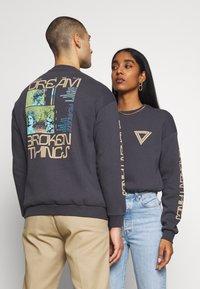 YOURTURN - UNISEX - Zip-up hoodie - dark gray - 2