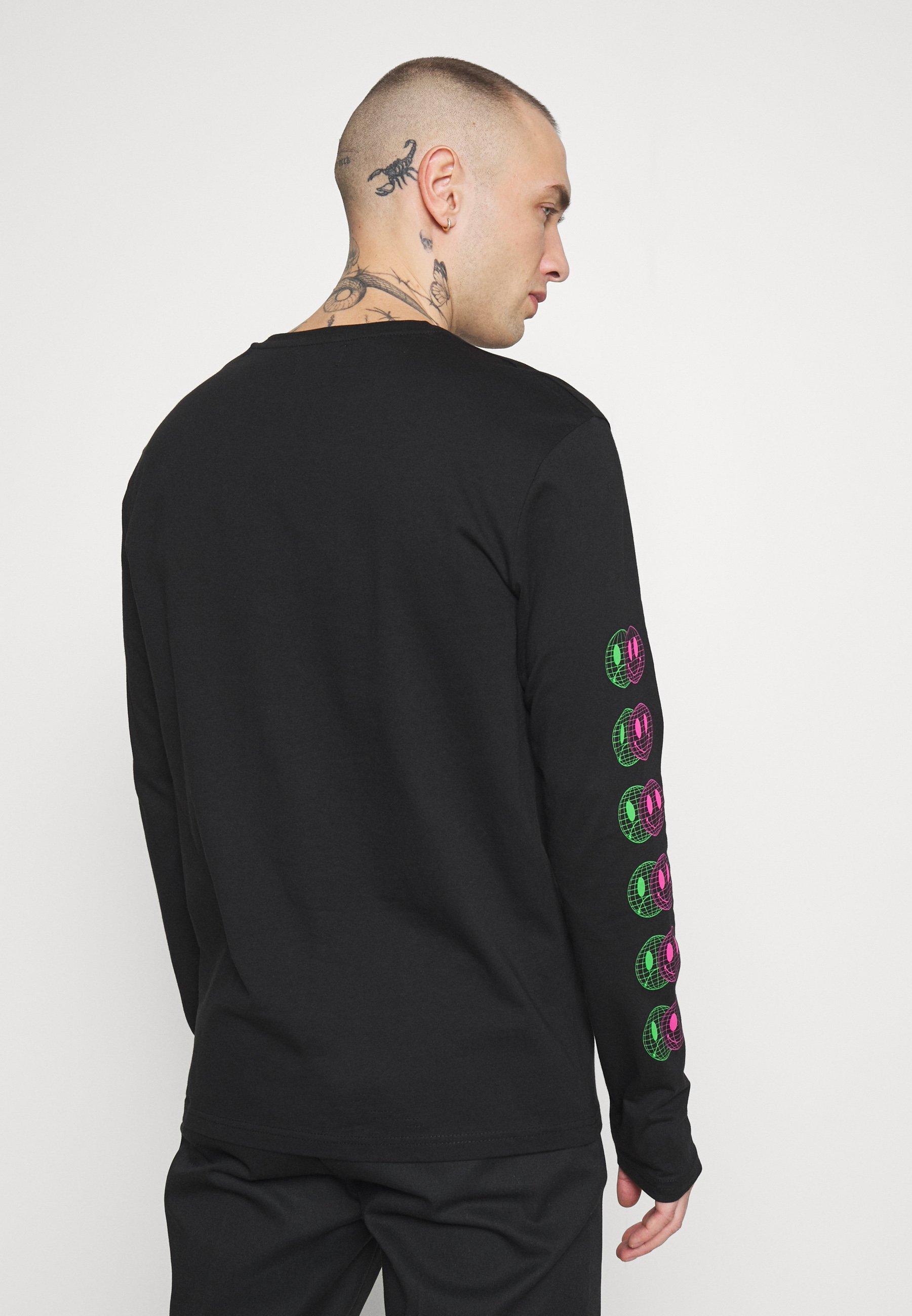 YOURTURN Bluzka z długim rękawem - black