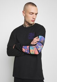 YOURTURN - Long sleeved top - black - 3